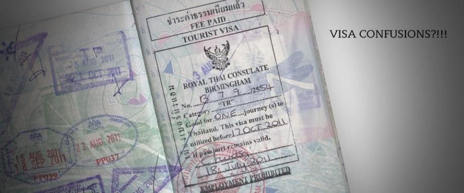 Visa Confusions